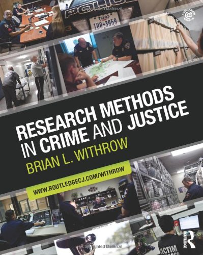 9780415884365: Research Methods in Crime and Justice (Criminology and Justice Studies)