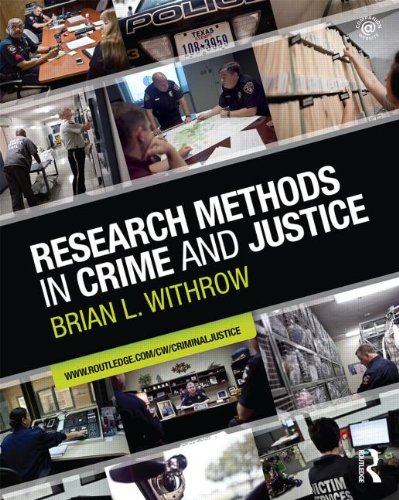 9780415884433: Research Methods in Crime and Justice (Criminology and Justice Studies)