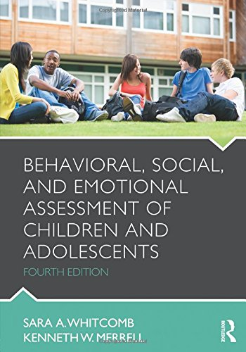 9780415884600: Behavioral, Social, and Emotional Assessment of Children and Adolescents
