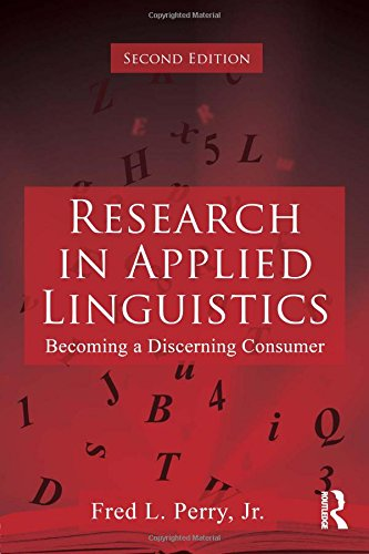 9780415885713: Research in Applied Linguistics: Becoming a Discerning Consumer
