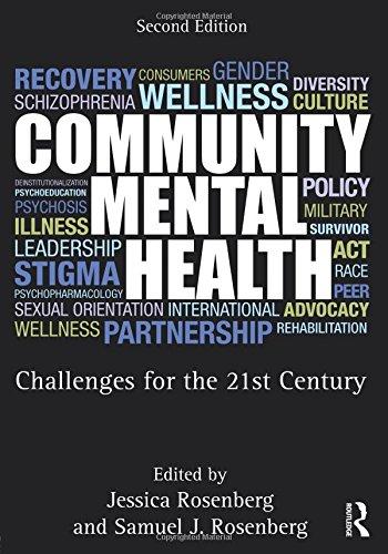Community Mental Health: Rosenberg, Jessica (edt);