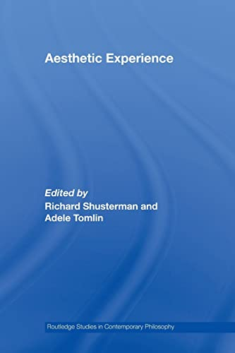 9780415887823: Aesthetic Experience (Routledge Studies in Contemporary Philosophy)