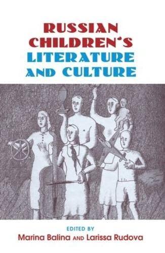 9780415888875: Russian Children's Literature and Culture