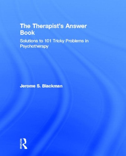 9780415888912: The Therapist's Answer Book: Solutions to 101 Tricky Problems in Psychotherapy