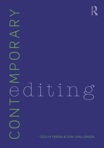 9780415892810: Contemporary Editing