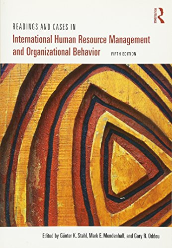 9780415892988: Readings and Cases in International Human Resource Management and Organizational Behavior