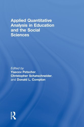 9780415893480: Applied Quantitative Analysis in Education and the Social Sciences