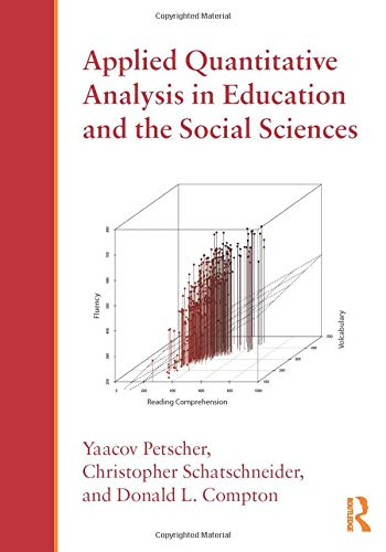 9780415893497: Applied Quantitative Analysis in Education and the Social Sciences