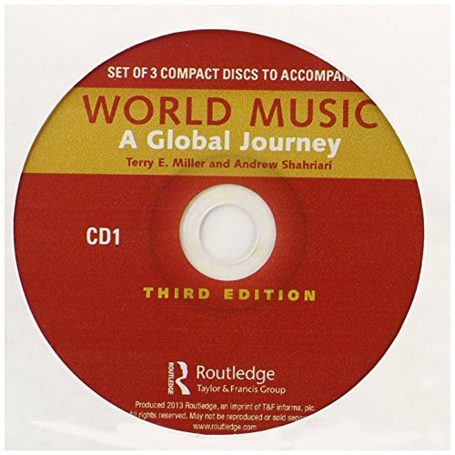 9780415894029: World Music: A Global Journey - Audio CD Only