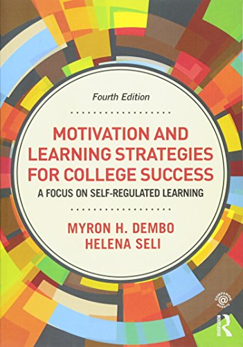 9780415894203: Motivation and Learning Strategies for College Success: A Focus on Self-Regulated Learning
