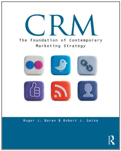 9780415896573: CRM: The Foundation of Contemporary Marketing Strategy