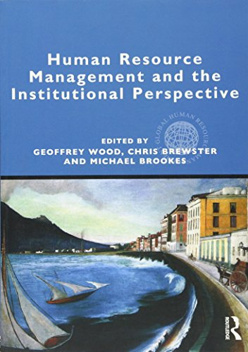 9780415896931: Human Resource Management and the Institutional Perspective (Global HRM)