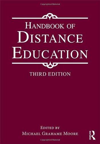 9780415897648: Handbook of Distance Education