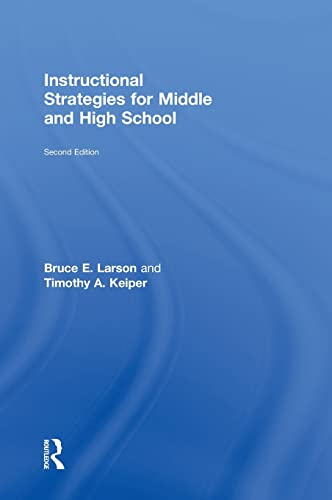 9780415898140: Instructional Strategies for Middle and High School