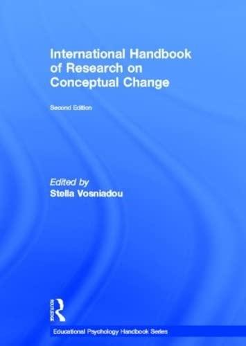 9780415898829: International Handbook of Research on Conceptual Change (Educational Psychology Handbook)
