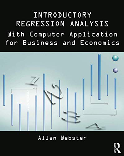 9780415899338: Introductory Regression Analysis: with Computer Application for Business and Economics