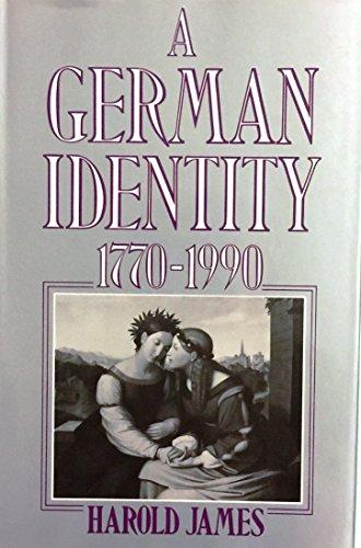9780415901802: A German Identity, 1770-1990