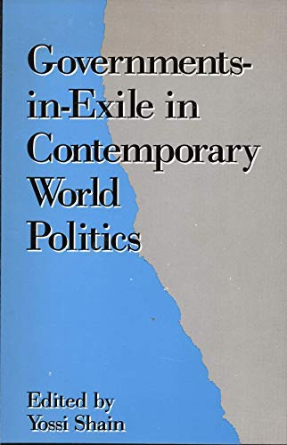 9780415902212: Governments-In-Exile in Contemporary World Politics
