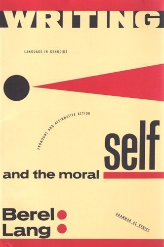 Writing and the Moral Self