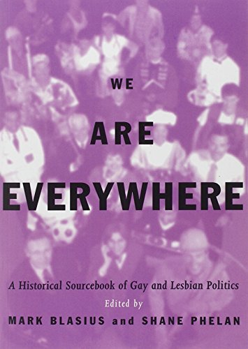 9780415908597: We Are Everywhere: A Historical Sourcebook of Gay and Lesbian Politics