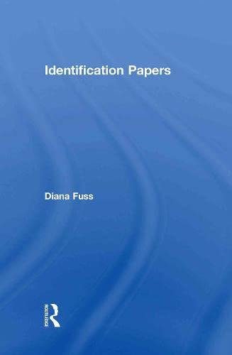 9780415908856: Identification Papers: Readings on Psychoanalysis, Sexuality, and Culture