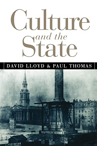 Culture and the State: David Lloyd; Paul Thomas