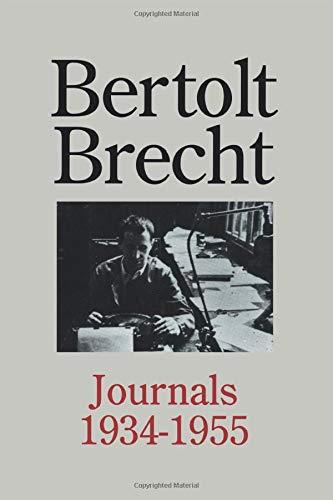 Bertolt Brecht: Journals 1934 - 1955 (0415912822) by Bertolt Brecht