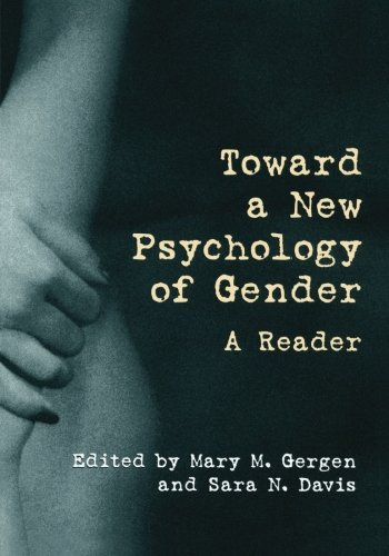 9780415913089: Toward a New Psychology of Gender: A Reader