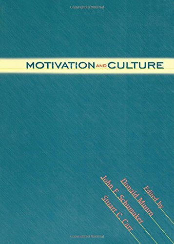 9780415915090: Motivation and Culture