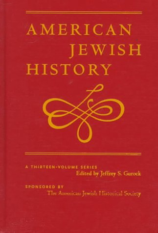 The History of Judaism in America: Transplantations, Transformations and Reconciliations: American ...