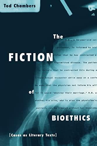 9780415919890: The Fiction of Bioethics (Reflective Bioethics)