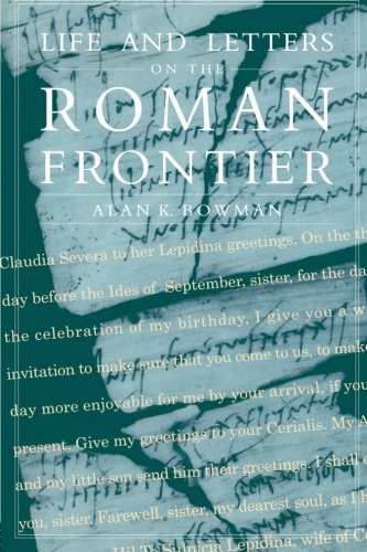 9780415920254: Life and Letters on the Roman Frontier