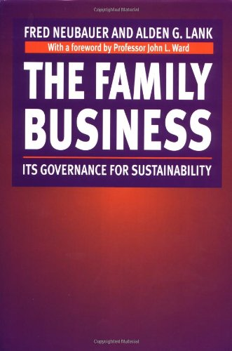 9780415920940: The Family Business: Its Governance for Sustainability