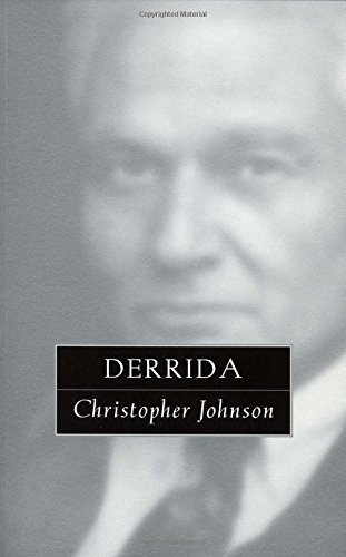 9780415923842: Derrida: The Great Philosophers (The Great Philosophers Series)