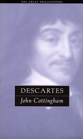 9780415923859: Descartes: The Great Philosophers (The Great Philosophers Series)