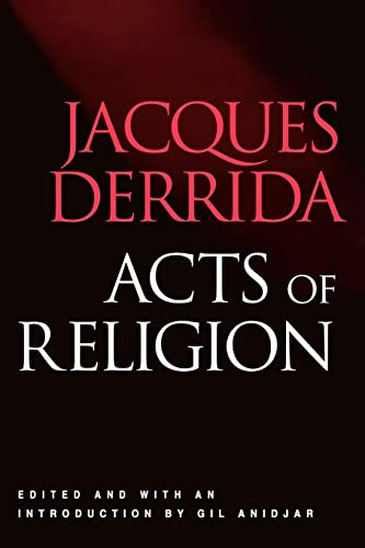 9780415924016: Acts of Religion