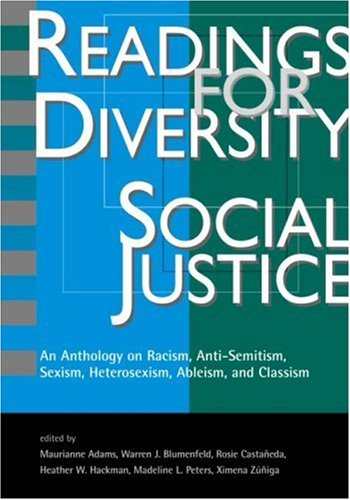 Readings for Diversity and Social Justice: An: Maurianne Adams