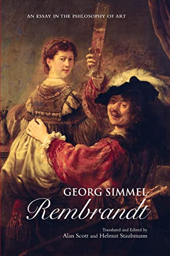 9780415926706: Georg Simmel: Rembrandt: An Essay in the Philosophy of Art