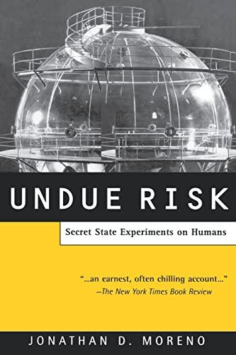 9780415928359: Undue Risk: Secret State Experiments on Humans