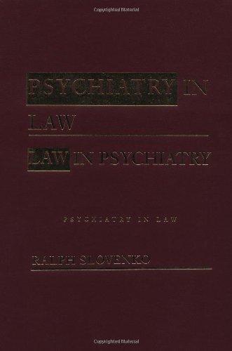 9780415933636: Psychiatry in Law / Law in Psychiatry