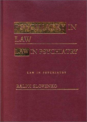 9780415933650: Psychiatry in Law / Law in Psychiatry, Second Edition
