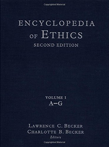 9780415936736: Encyclopedia of Ethics, Vol. 1, A-G, 2nd Edition