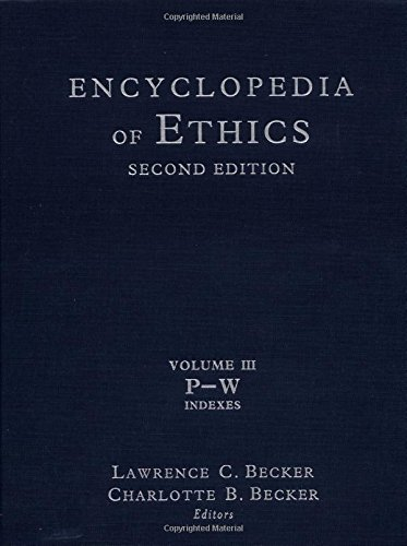 9780415936750: Encyclopedia of Ethics: Second Edition: Volume III: