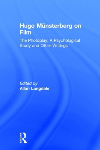 9780415937061: Hugo Munsterberg on Film: The Photoplay: A Psychological Study and Other Writings