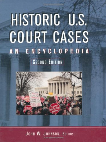 9780415937559: Historic U. S. Court Cases: An Encyclopedia (2 Volumes)