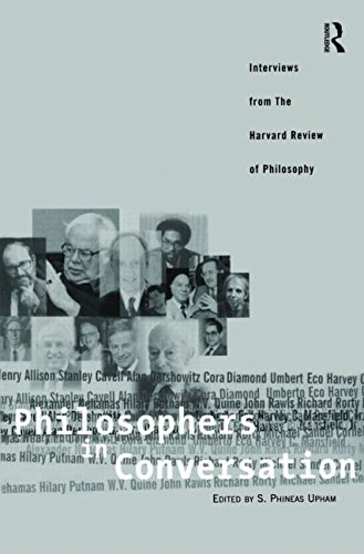 9780415937788: Philosophers in Conversation: Interviews from the Harvard Review of Philosophy