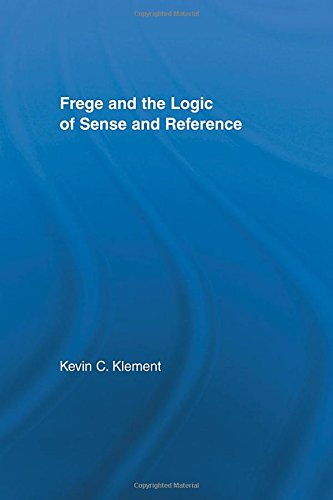 9780415937900: Frege and the Logic of Sense and Reference (Studies in Philosophy)