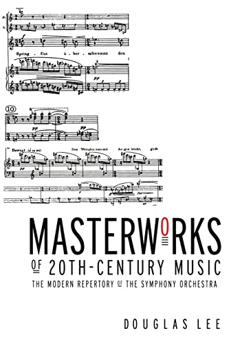 9780415938471: Masterworks of 20th-Century Music: The Modern Repertory of the Symphony Orchestra