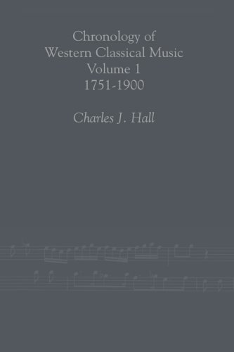 9780415938785: Chronology of Western Classical Music, 1751-2000 2 Volume set