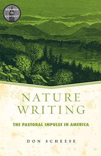 9780415938891: Nature Writing